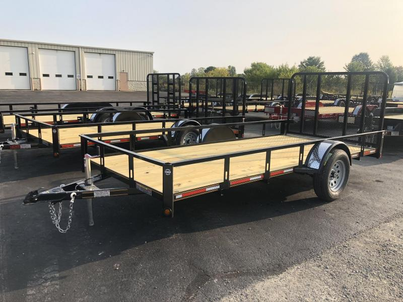 6x14 Utility Trailer w/ Rear Gate