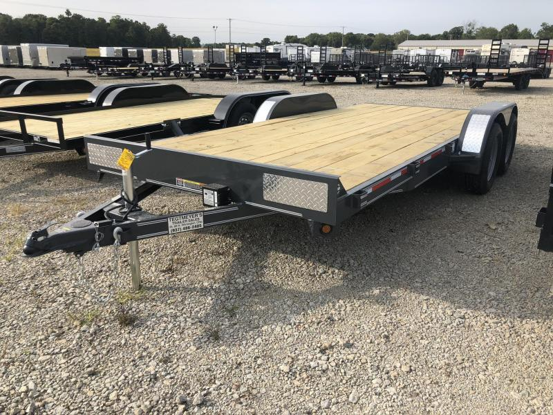 7x18  Car Hauler Tandem Axle w/ Ramps