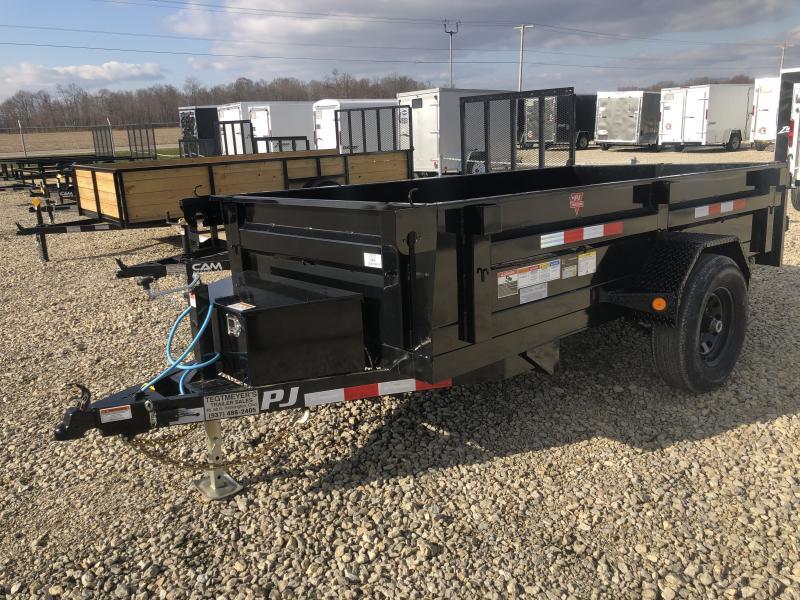 PJ Trailers 5x10 Dump Trailer - Single Axle