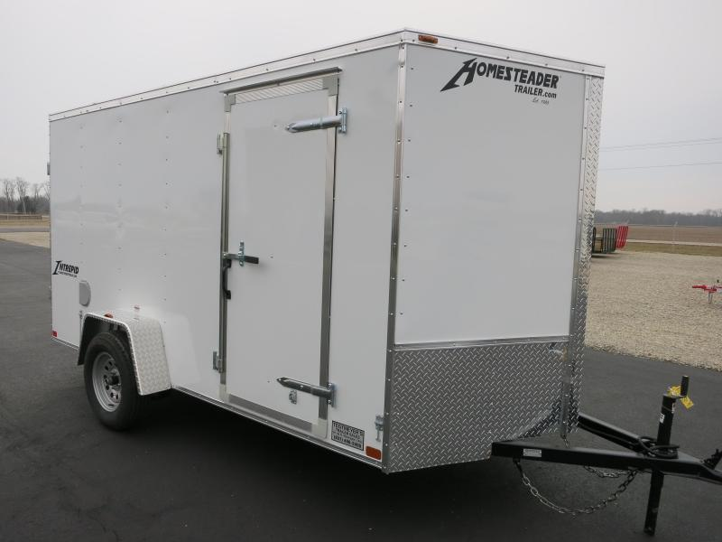 Homesteader Trailers 6x10 Enclosed Trailers w/ Double Rear Doors