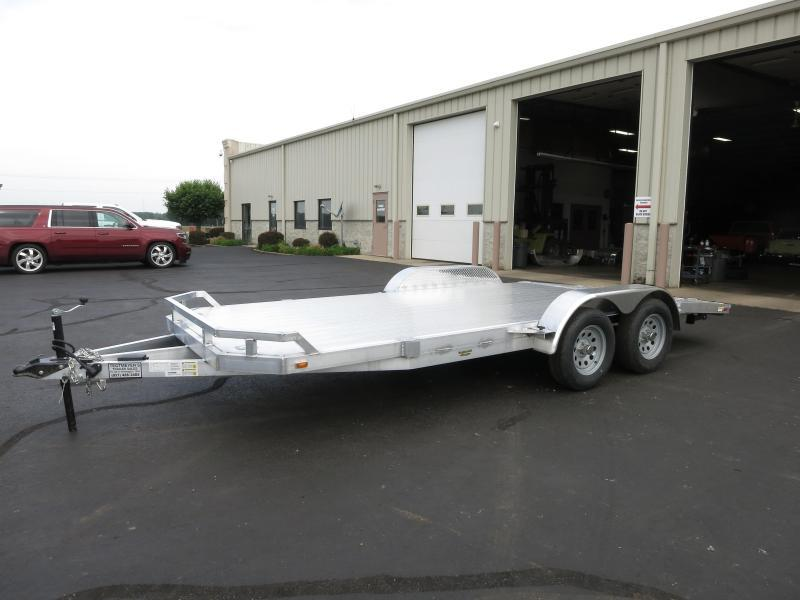 18' Tandem Axle All Aluminum Car Trailers - RAMPS