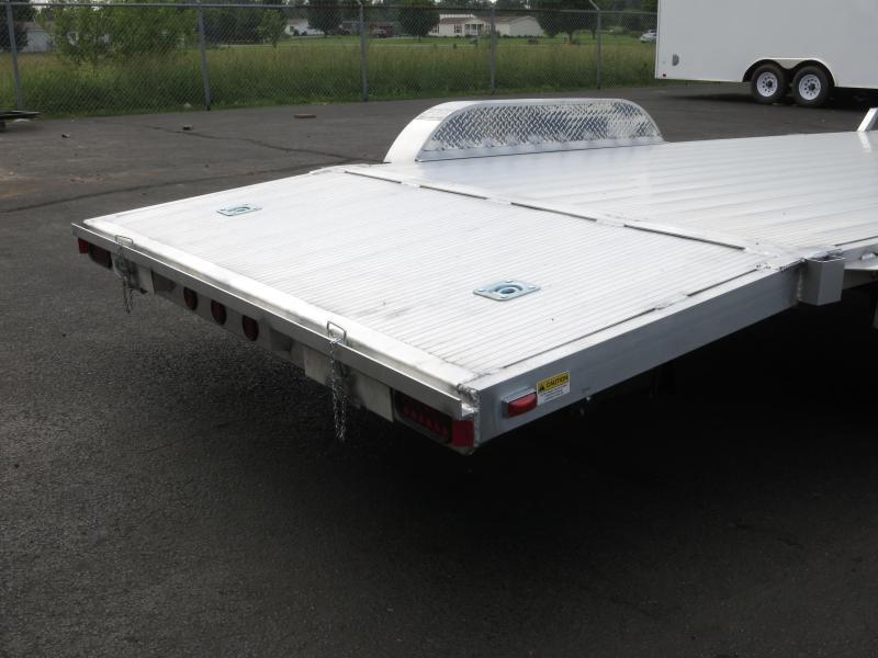 18' Tandem Axle All Aluminum Car Trailers - RAMPS
