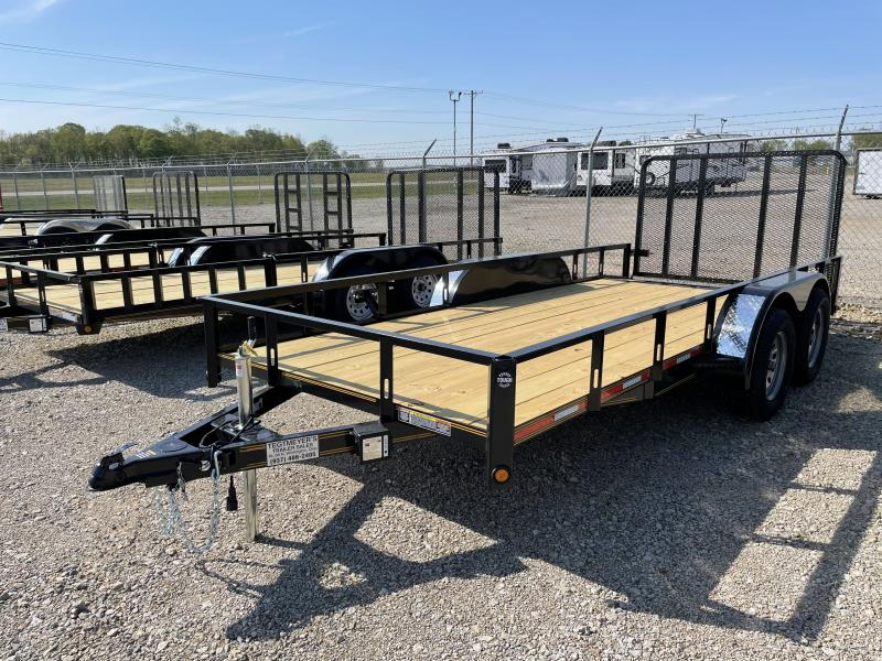 6x16 Tandem Axle Utility w/ Rear Gate
