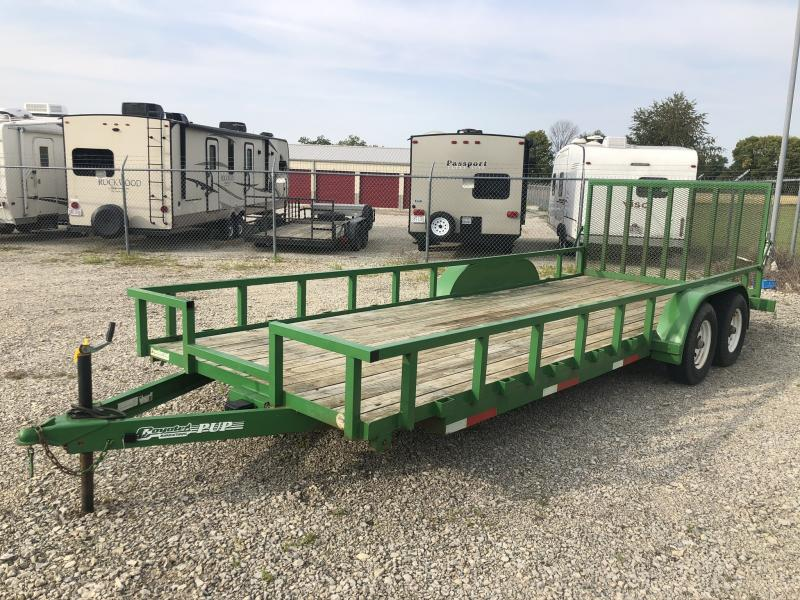 Used 20' Utility Trailer w/gate