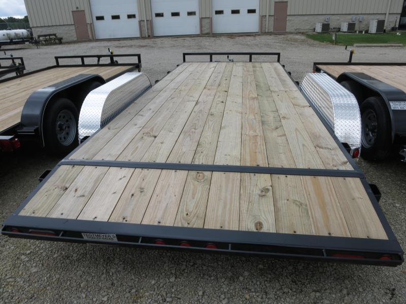 PJ Trailers 18' Car Trailer w/ Ramps
