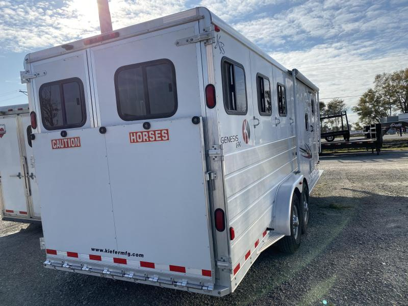 2008 Kiefer Built Genesis Horse Trailer