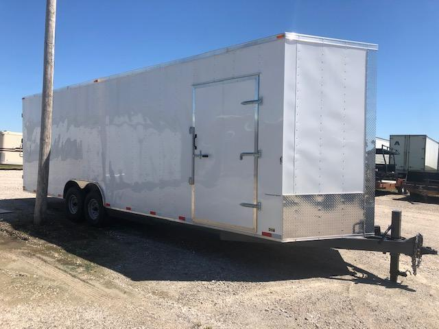 2020 Maxwell Contractor28' Enclosed Cargo Trailer