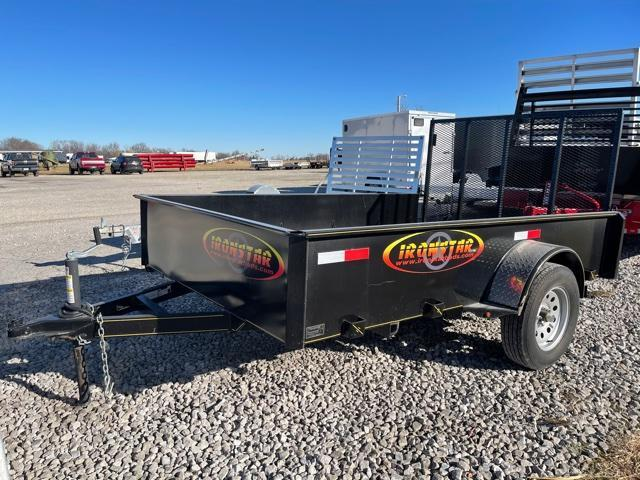 "2020 Maxwell 77""x10 Solid Side Utility Trailer"