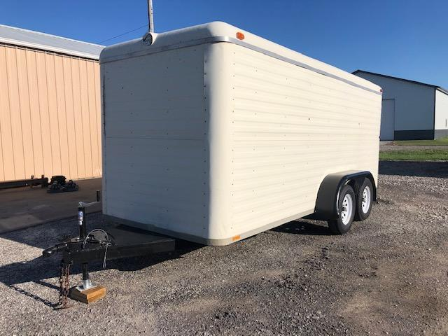 2001 Kiefer Built KK614 Enclosed Cargo Trailer