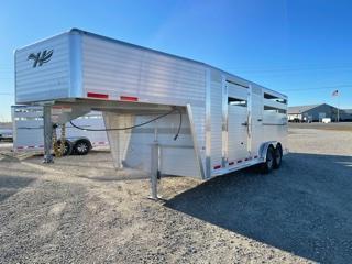 2021 Hillsboro Industries ES7.5-20-68 Livestock Trailer