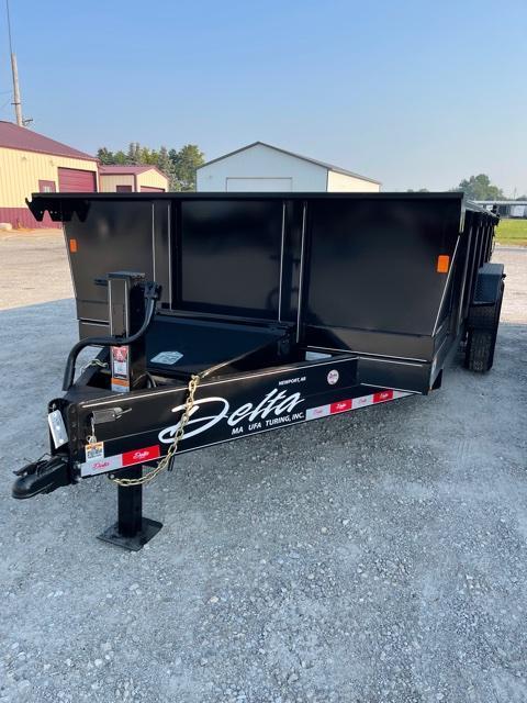 2021 Delta Manufacturing 16'DumperDump Dump Trailer