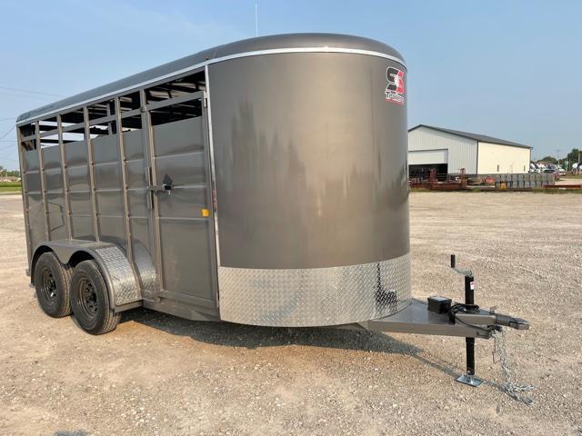 2022 S&S Manufacturing 6x16 Livestock Trailer