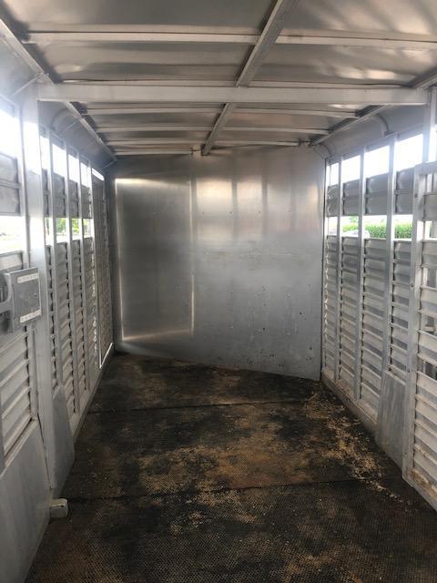 2010 Keifer Built K720Combo Livestock Trailer