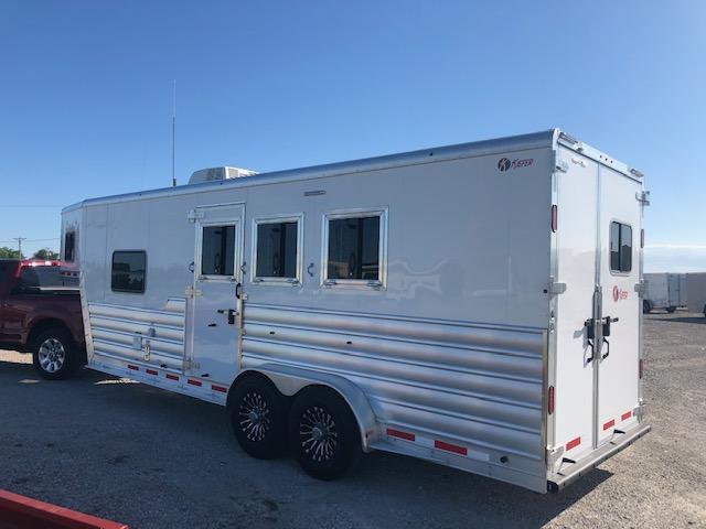 2021 Keifer Built Genesis 3 Horse LQ Horse Trailer