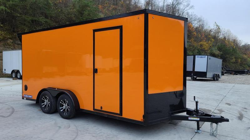 Sure-Trac STWMP9016TA Motorcycle Trailer Orange