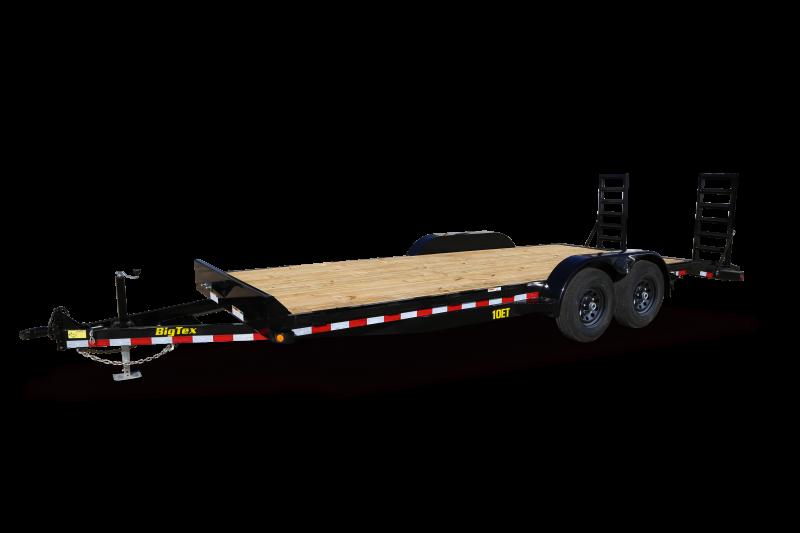 2021 Big Tex Trailers 10ET-18 Equipment Trailer