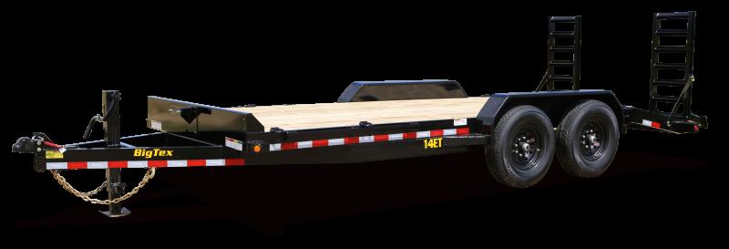 "2021 Big Tex Trailers 14ET 83"" x 16' 14K Equipment Trailer"