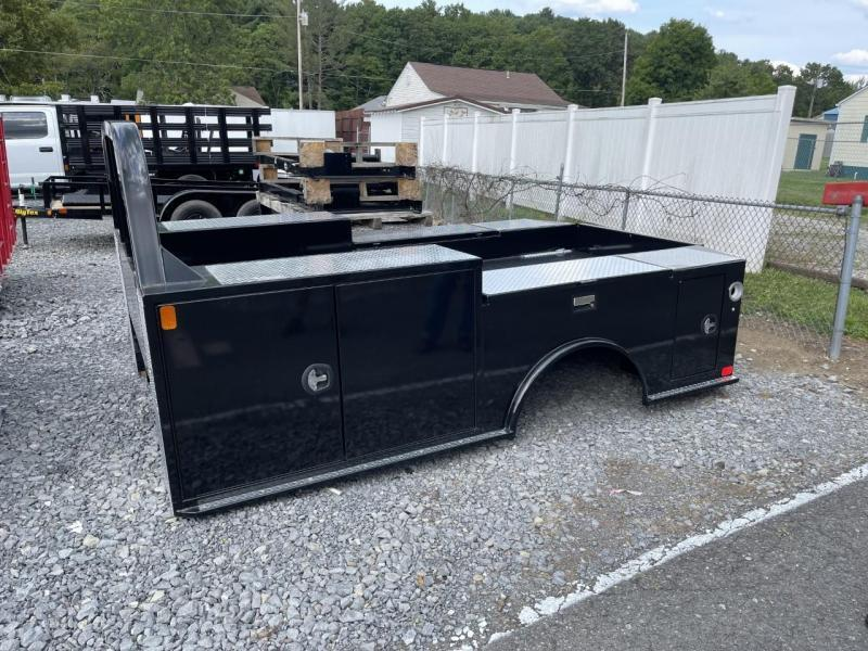 """2021 CM Truck Beds TM Deluxe Truck Bed 11' 4"""" x 94"""" - 84"""" Cab To Axle Cab Chassis"""