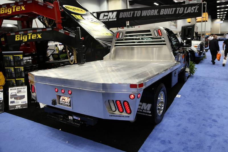 "CM Truck Beds AL RD Aluminum Truck Bed 9'4"" x 94'  Cab Chassis"