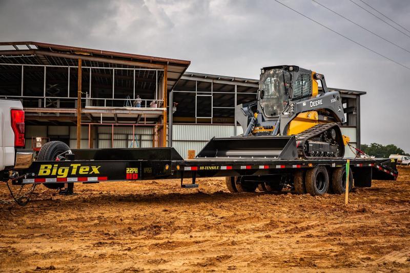 2021 Big Tex Trailers 22PH-20+5 Mega Ramp 23.9K Equipment Trailer