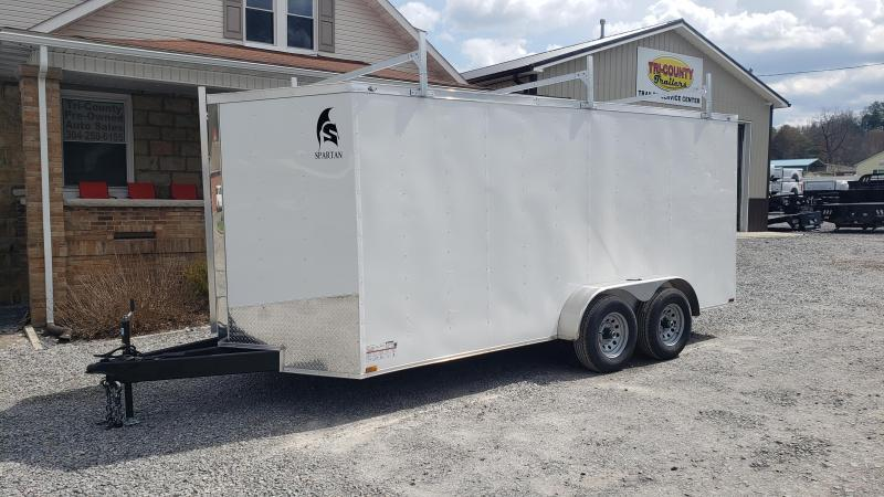Spartan 7X16 10K Contractor Enclosed W/Ramp Door