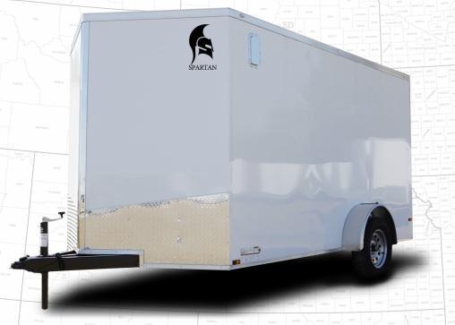 2022 Spartan Cargo Spartan 6X12Enclosed Cargo Trailer