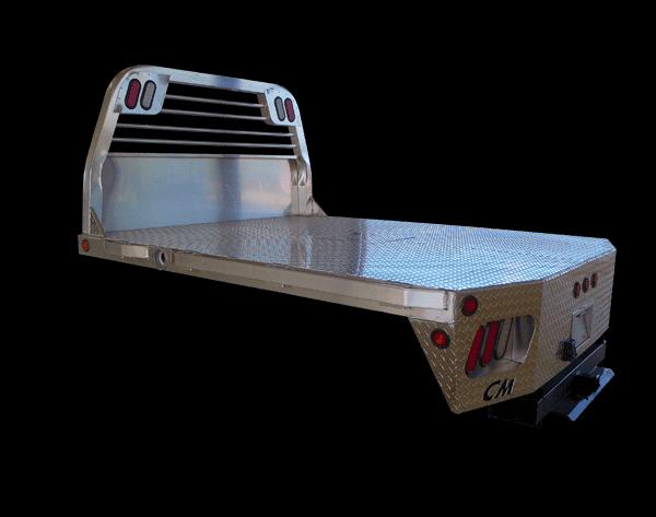 """2021 CM Truck Beds Aluminum RD Model 11' 4"""" x 97"""" - 84"""" Cab To Axle"""