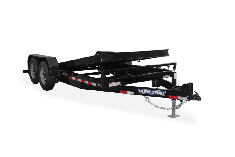 2021 Sure-Trac ST8218TBE160 Equipment Trailer