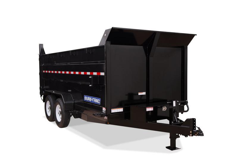 2020 Sure-Trac ST8214TLD4-B-140 Dump Trailer