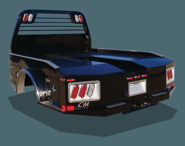 "2019 CM Steel ER Model Truck Bed 8'6""x97/58/42 Dodge Dual Rear Wheel Bed Take Off"