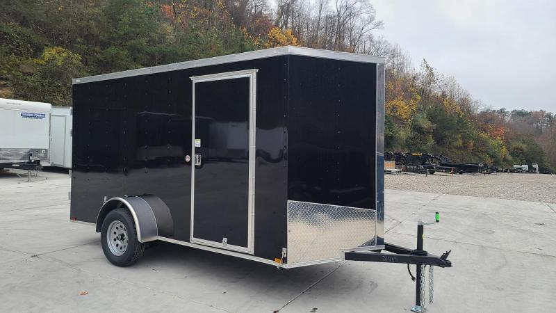 Spartan Cargo Spartan S6X12SA Enclosed Cargo Black