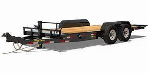 Big Tex Trailers 14FT 83X18 14K Full Tilt Equipment