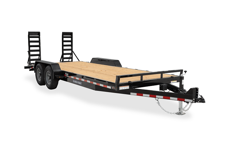 2021 Sure-Trac 7 x 18 Equipment Trailer  14K