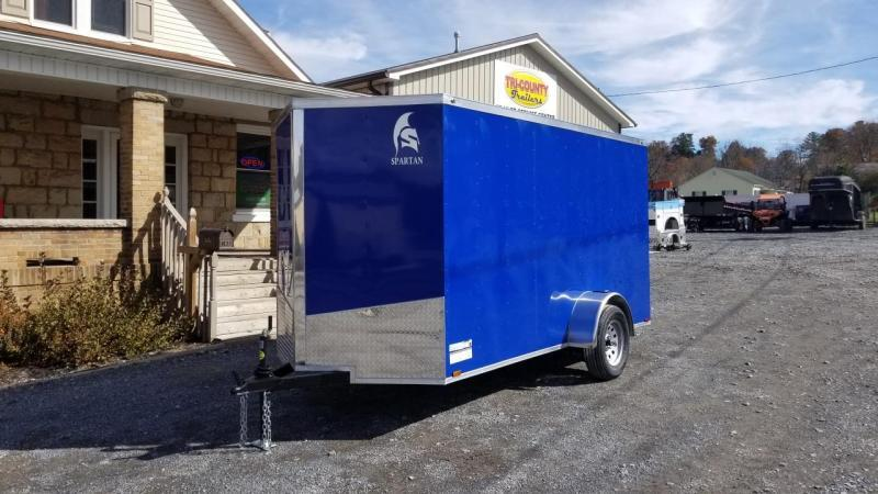 Spartan 6X12 3K Enclosed Deep Blue