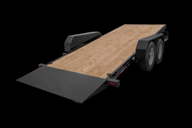 2021 Sure-Trac ST82184TBEB160 Equipment Trailer
