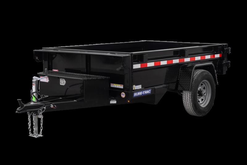 "2020 Sure-Trac 62"" x 8' 5K Dump Trailer"