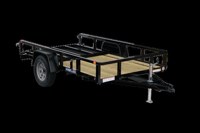 "2021 Sure-Trac 82"" x 14' 5K Tub Top Utiliy Trailer with Brakes"
