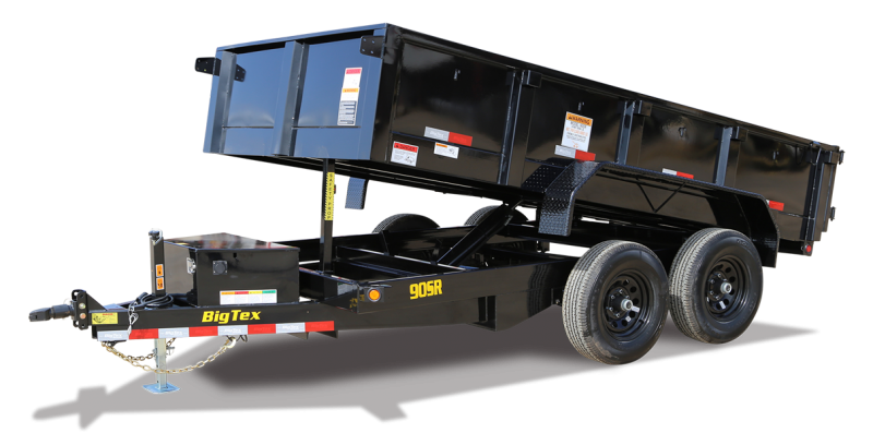 2022 Big Tex Trailers 90SR10BK Dump Trailer