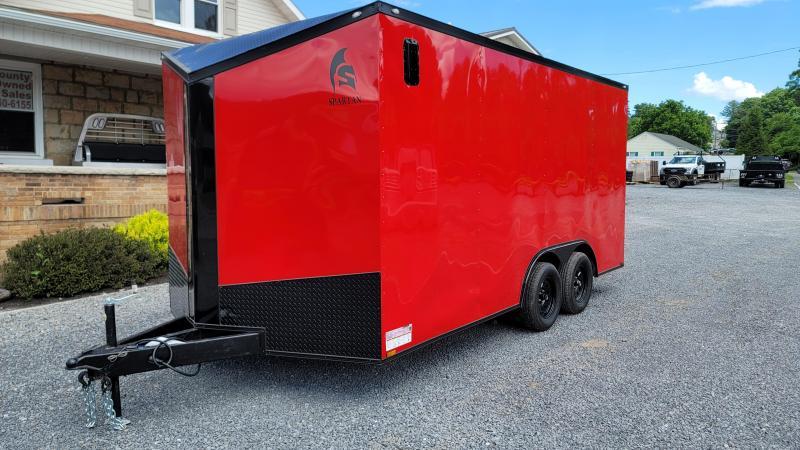 2021 Spartan Cargo 8.5x16 7K Enclosed Cargo Trailer