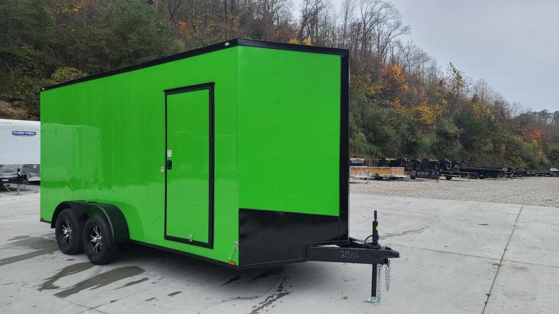 Spartan Cargo Spartan S7X16TA Enclosed Cargo Electric Green