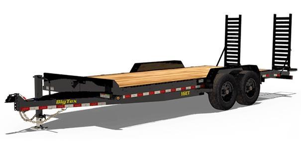 "2022 Big Tex Trailers 16ET-83"" x 20' 17,500 GVW Equipment Trailer"