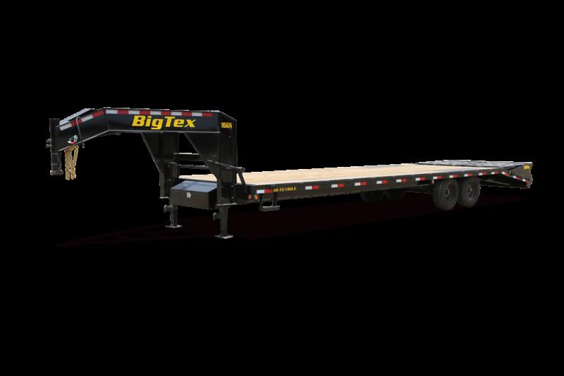 2022 Big Tex Trailers 14GN-25+5 Mega Ramp Equipment Trailer