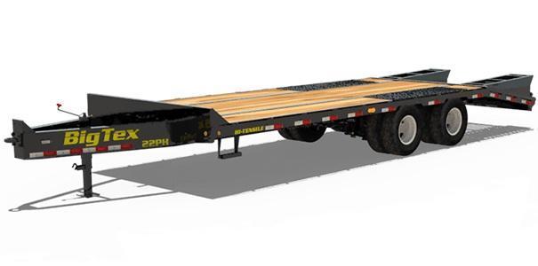 2021 Big Tex Trailers 22PH-25+5 Mega Ramp 23.9k GVWEquipment Trailer