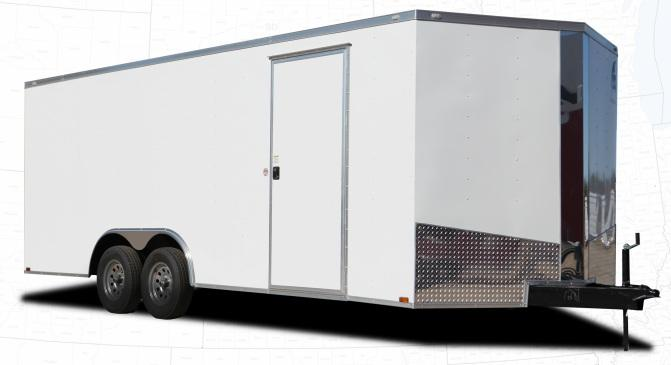 2022 Spartan 8.5' x 18' 14K GVW Enclosed with 7' Interior Height