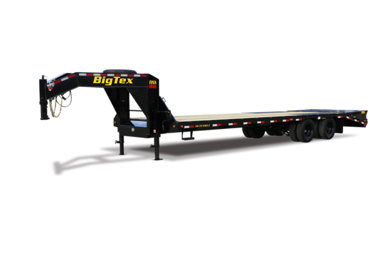 2022 Big Tex Trailers 22GN-28+5 Mega Ramp Equipment Trailer