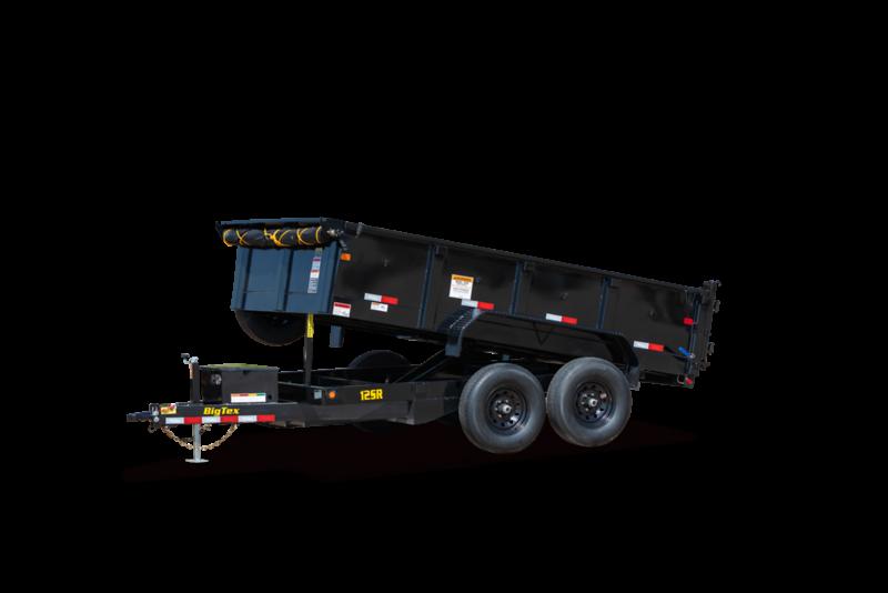 "2022 Big Tex Trailers 12SR- 83"" x 12' - 12,000 GVW Dump Trailer"