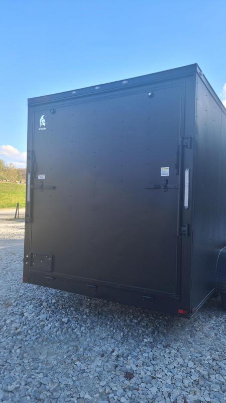 Spartan Cargo Spartan S7X16TA Enclosed Cargo Matte Black