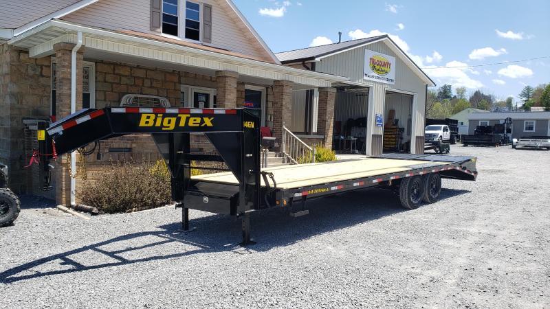 Big Tex Trailers 14GN - 20+5 Mega Ramp Gooseneck Deckover