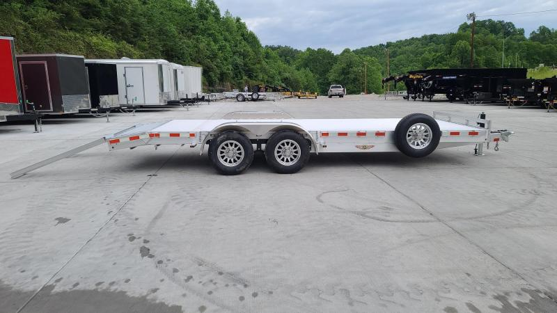 "H and H Trailer 82"" x 18'+2' H8220HDAD-100 Car / Racing Trailer"