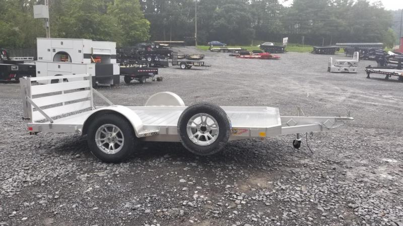 H and H Trailer 6X12 3K Aluminum Low Side Utility Trailer